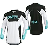 ONeal Mens Element Racewear Jersey (White, Large)