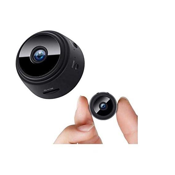 FREDI HD PLUS WiFi Mini Hidden Spy Camera HD 1080P Wireless Portable Small Camera with Motion Detection and Night Version Home Security Cameras Nanny Cam Video Recorder
