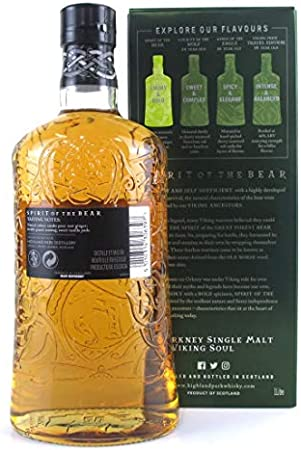 Highland Park SPIRIT OF THE BEAR Single Malt Scotch Whisky 40% - 1000 ml in Giftbox
