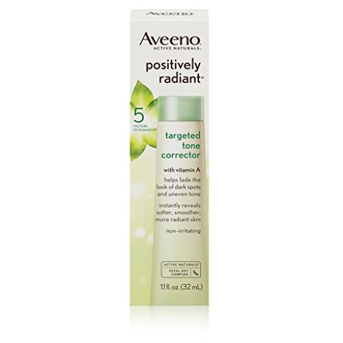 Aveeno Positively Radiant Targeted Tone Corrector, 1.1 Fl. Oz
