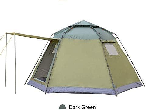 Tienda emergente 4 Personas Tienda de campa/ña instant/ánea Mochila Camping Tienda Familiar Domo Camping Senderismo Viaje