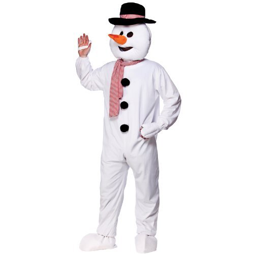 Mascot Snowman Adult Mascot & Animal Costumes | Ladies Mens Children's Entertainer Outfits | Fancy Dress by Wicked (Ladies Snowman Costume)