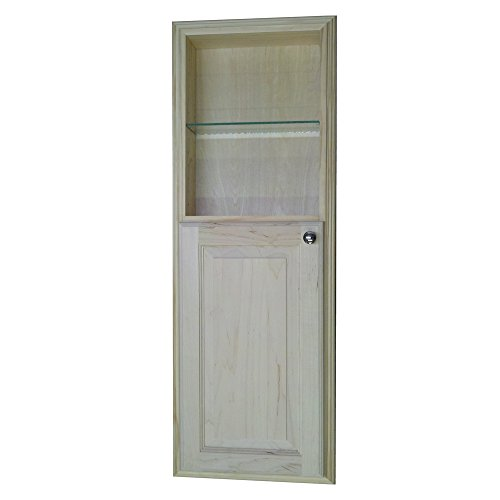 Wood Cabinets Direct Recessed in The Wall Powell Medicine Cabinet with 18