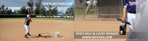 Non-Electric Baseball Soft Toss Pop Up Pitching Machine