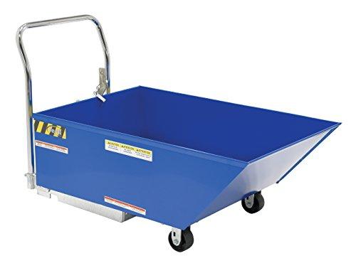Vestil HOP-LP-N Low Profile Parts Hopper, Steel, 2,000 lb. Capacity, 33 x 30 x 57-3/16 inches (H x W x D)