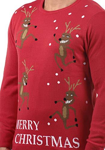 Rudolph 73859 Maille Pull Pomp Homme Blend Red christmas nbsp; En dzUxptqnB