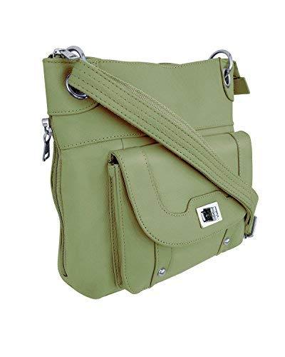 Ladies' Gun Concealment Crossbody Bag Olive