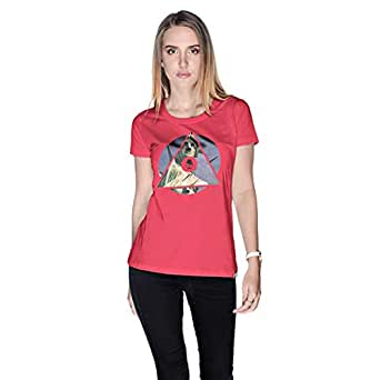 Creo Nyc Liberty T-Shirt For Women - S, Pink