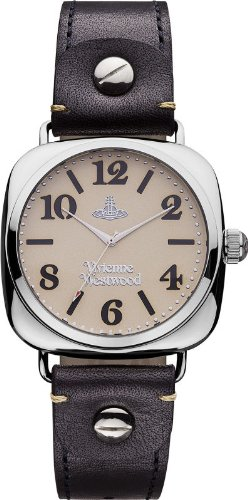 Vivienne Westwood Men's VV061SLBK Battersea Black Watch