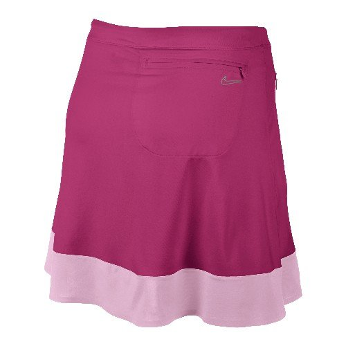 Nike Golf Women's Color Band Skort 542642-650 Pink Force/Ion Pink/Soft Grey XS