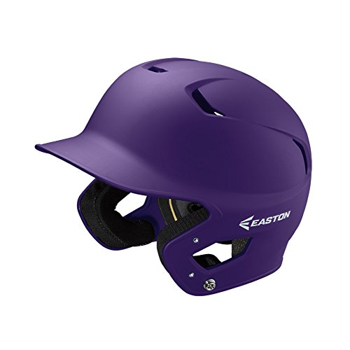 - EASTON Z5 2.0 Batting Helmet | Junior | Matte Purple | Baseball Softball | 2019 | Dual-Density Impact Absorption Foam | High Impact Resistant ABS Shell | Moisture Wicking BioDRI Liner