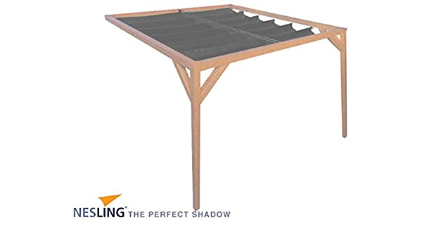 Pergola de pared antracita: Amazon.es: Jardín