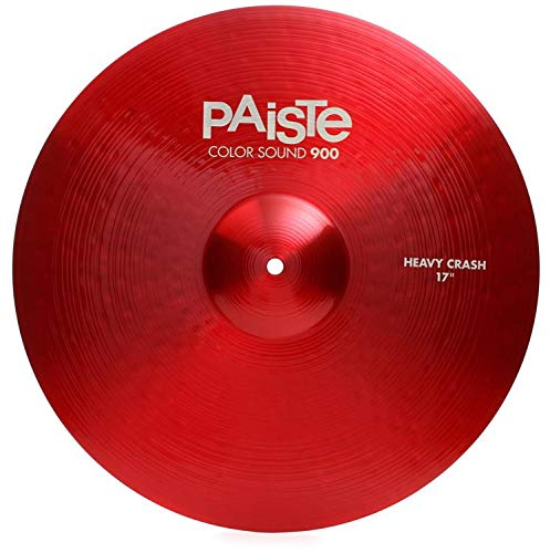Paiste 17 Inches Color Sound 900 Red Heavy Crash Cymbal by Paiste