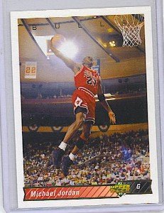 1992/1993  Michael Jordan # Basketball Card - upper deck 23