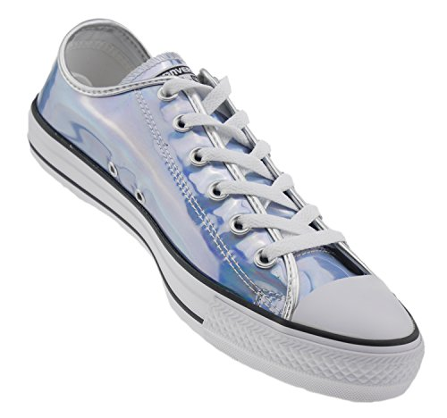 All Star Taylor Oxford Silver Fashion Women's Iridescent Chuck Converse Sneaker CTqtft