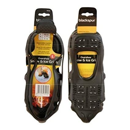 Suelas de agarre para hielo antideslizantes para botas o calzado grandes