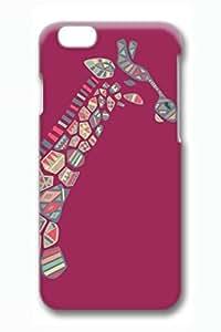 Brian114 Cute Animals Giraffe 20 Phone Case for the iPhone 6 Plus 3D wangjiang maoyi