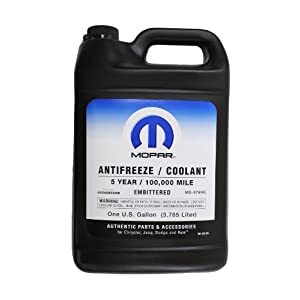 Genuine Mopar Fluid 68048953AB Antifreeze/Coolant - 1 Gallon Bottle