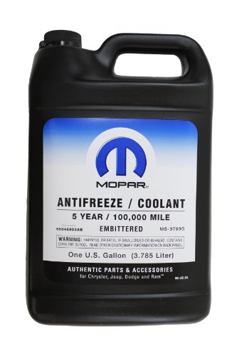 (Genuine Mopar Fluid 68048953AB Antifreeze/Coolant - 1 Gallon)