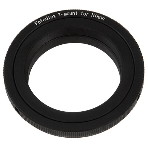 Price comparison product image Fotodiox Lens Mount Adapter - T-Mount (T / T-2) Screw Mount SLR Lens to Nikon F Mount SLR Camera Body