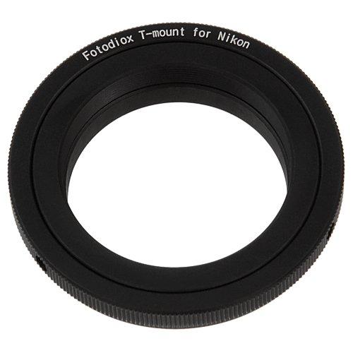 Fotodiox Lens Mount Adapter - T-Mount (T / T-2) Screw Mount SLR Lens to Nikon F Mount SLR Camera Body