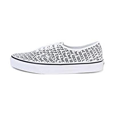 Vans Authentic Off The Wall True White (6.5 Women / 5 Men M US) | Fashion Sneakers
