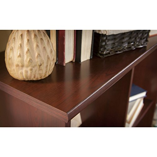 Bush Furniture Cabot Collection 6 Cube Bookcase in Harvest Cherry