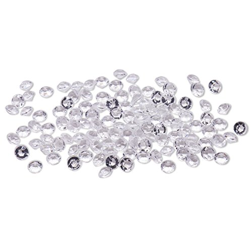 Bits C32 - BIT.FLY 4.2mm 1/3 Carat 10000pcs Acrylic Crystal Diamond for Vase Fillers, Party Table Scatter, Wedding, Photography, Party Decoration, Crafts DIY Project