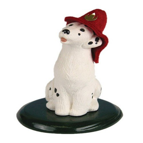 The Carolers Dalmation Dog, 4 Inch -