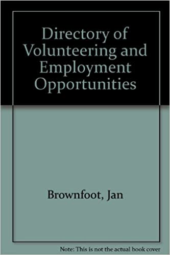 Directory of Volunteering and Employment Opportunities