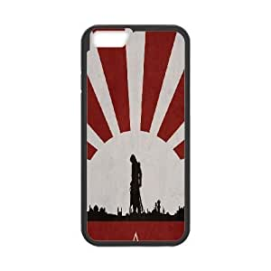 iphone6 plus 5.5 inch phone case Black Assassin's Creed XXD0004896