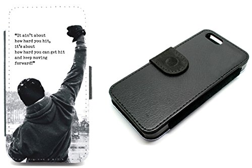 iPhone 4Wallet Rocky Balboa Film Zitat Motivation Boxen Telefon Fall