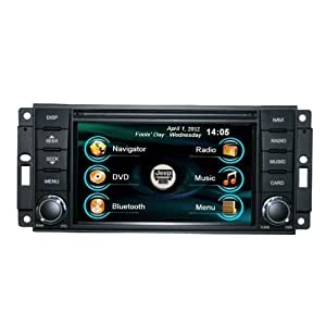oem replacement in dash radio dvd gps navigation headunit for jeep wrangler rubicon. Black Bedroom Furniture Sets. Home Design Ideas