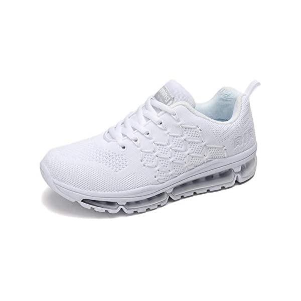 Uomo Donna Air Scarpe da Ginnastica Corsa Sportive Fitness Running Sneakers Basse Interior Casual all'Aperto 34-46 EU… 1