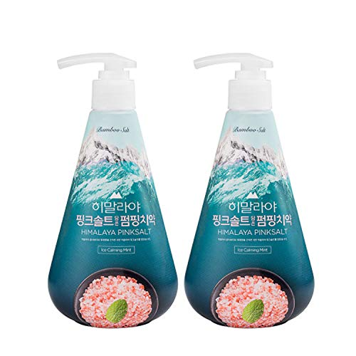[LG Health Care] Himalaya Pink Salt Toothpaste, Ice Mint Flavor (285g x 2 EA)