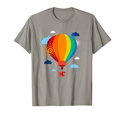 Rides Air Hot Balloon - Hot Air Balloon T-Shirt Hot Air Balloon Rides Festival Shirt