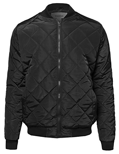 Quilted Bomber Jacket - 5