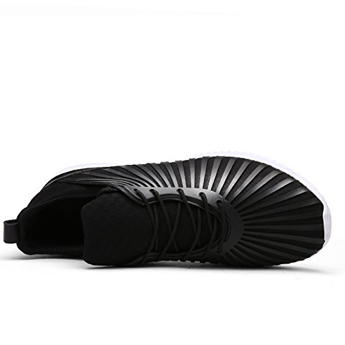 Go Tour Men Women Unisex Couple Casual Fashion Sneakers Breathable Athletic Sports Running Shoes Black QVUuZ