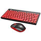 Wireless Keyboard and Mouse Combo Bigear 2.4GHz 1500DPI Mini Wireless Mouse Keyboard Suit