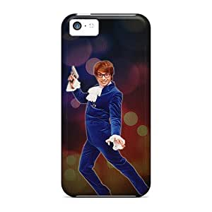 New LsYBtCn3624NfUvD Austin Powers Tpu Cover Case For Iphone 5c by icecream design