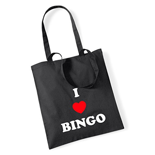 I Mum 100 Tote Pink Cotton Bag Gift LOVE BINGO 4qxrOf4