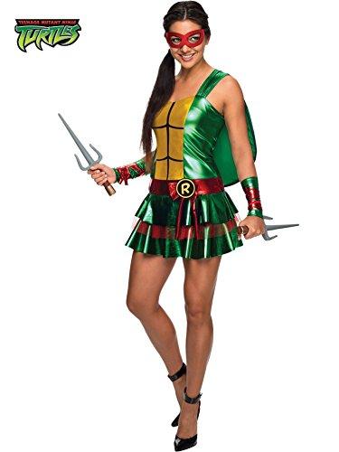 [Morris Costumes Sassy Raphael Tmnt Large 12-14] (Ninja Turtle Female Costumes)