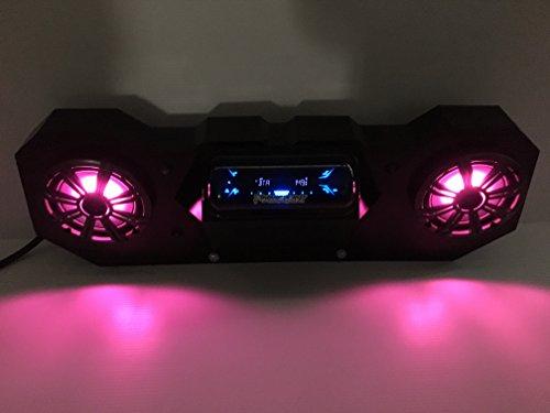 Sd 4bbt2rgb Polaris Rzr Stereo System Bt Utv Side By Side