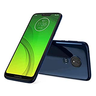 Motorola Moto G7 Power 32GB XT1955-5 LTE T-Mobile Android Smartphone - (Marine Blue) (Renewed)