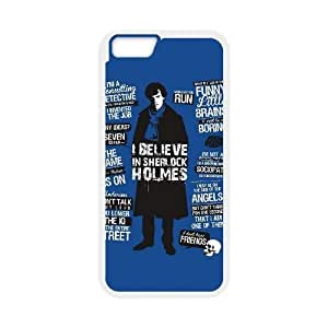 iphone6 plus 5.5 inch case , Sherlock Holmes Funny Quotes iphone6 plus 5.5 inch Cell phone case White-YYTFG-15928