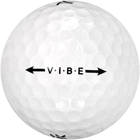 144 Volvik Vibe – 値( AAA )グレード – リサイクル( used )ゴルフボール
