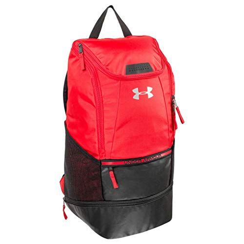 Men's Under Armour Soccer Backpack Red Size One Size ()