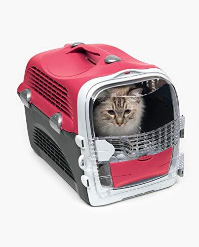 Transportín para Gato Rojo Cereza