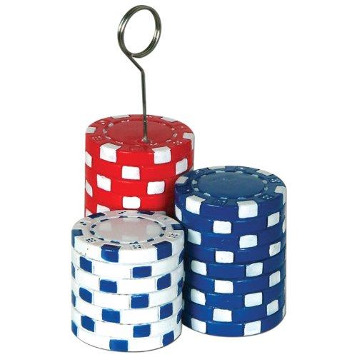 Beistle 50069 Poker Chips Photo Balloon (Halloween Poker Party)