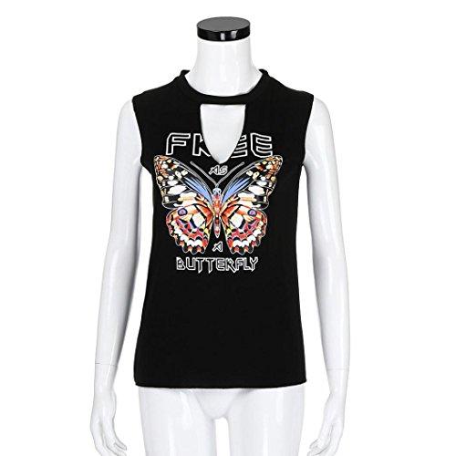 Leibchen Methodisch Frauen Sommer Drucken Ärmelloses Shirt Bluse Casual Tank Tops T-shirt Sommer Casual Weibliche T-shirts